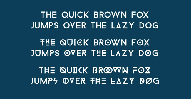 free creative font to download
