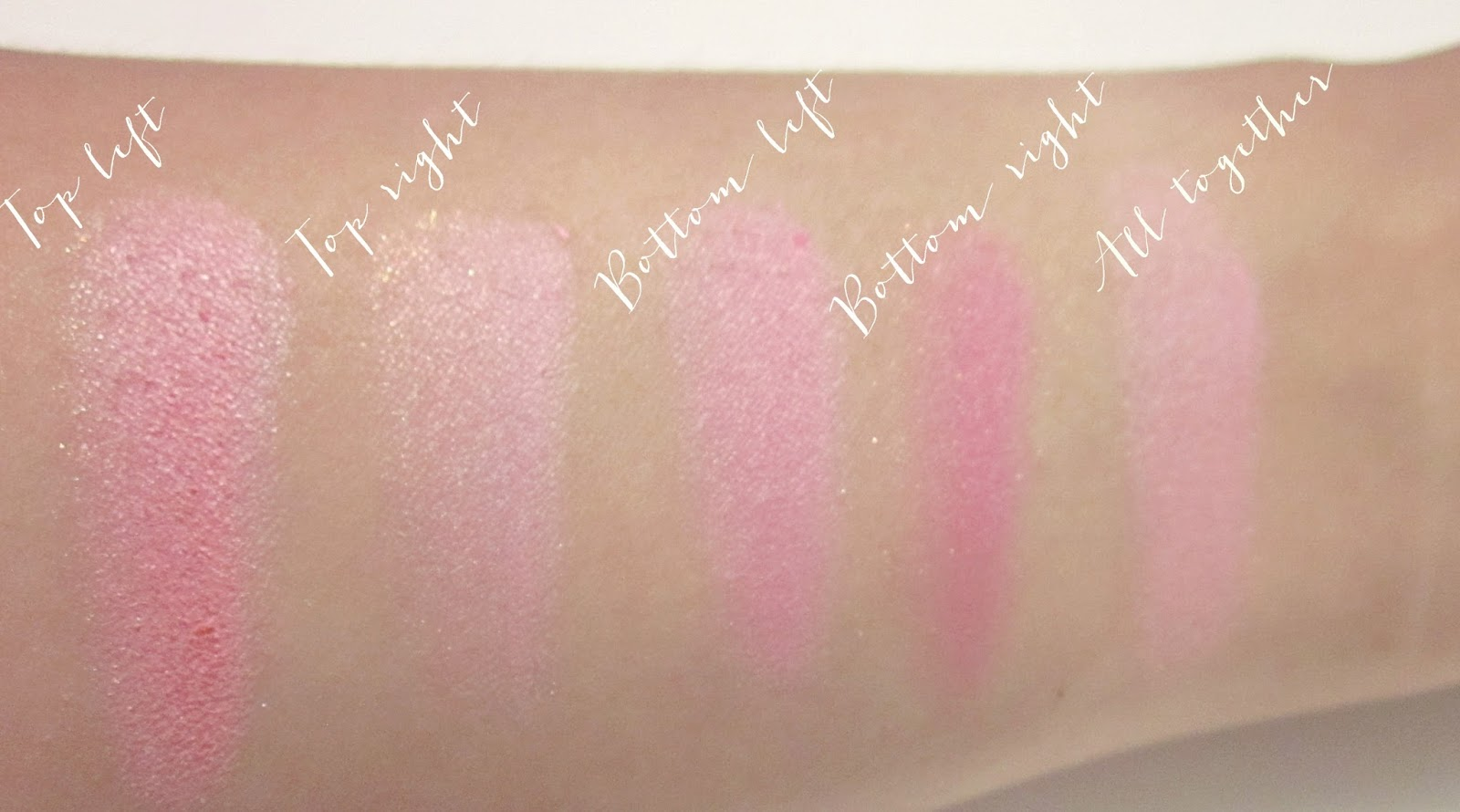Stila All You Need Is Love Palette swatches