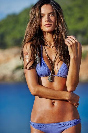 Alessandra Ambrosio hot in Ale by Alessandra sexy bikini model photo shoot