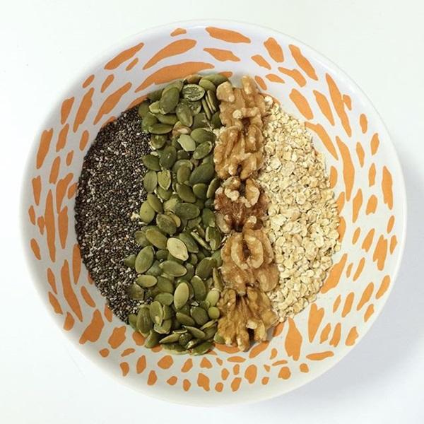 semillas para el desayuno