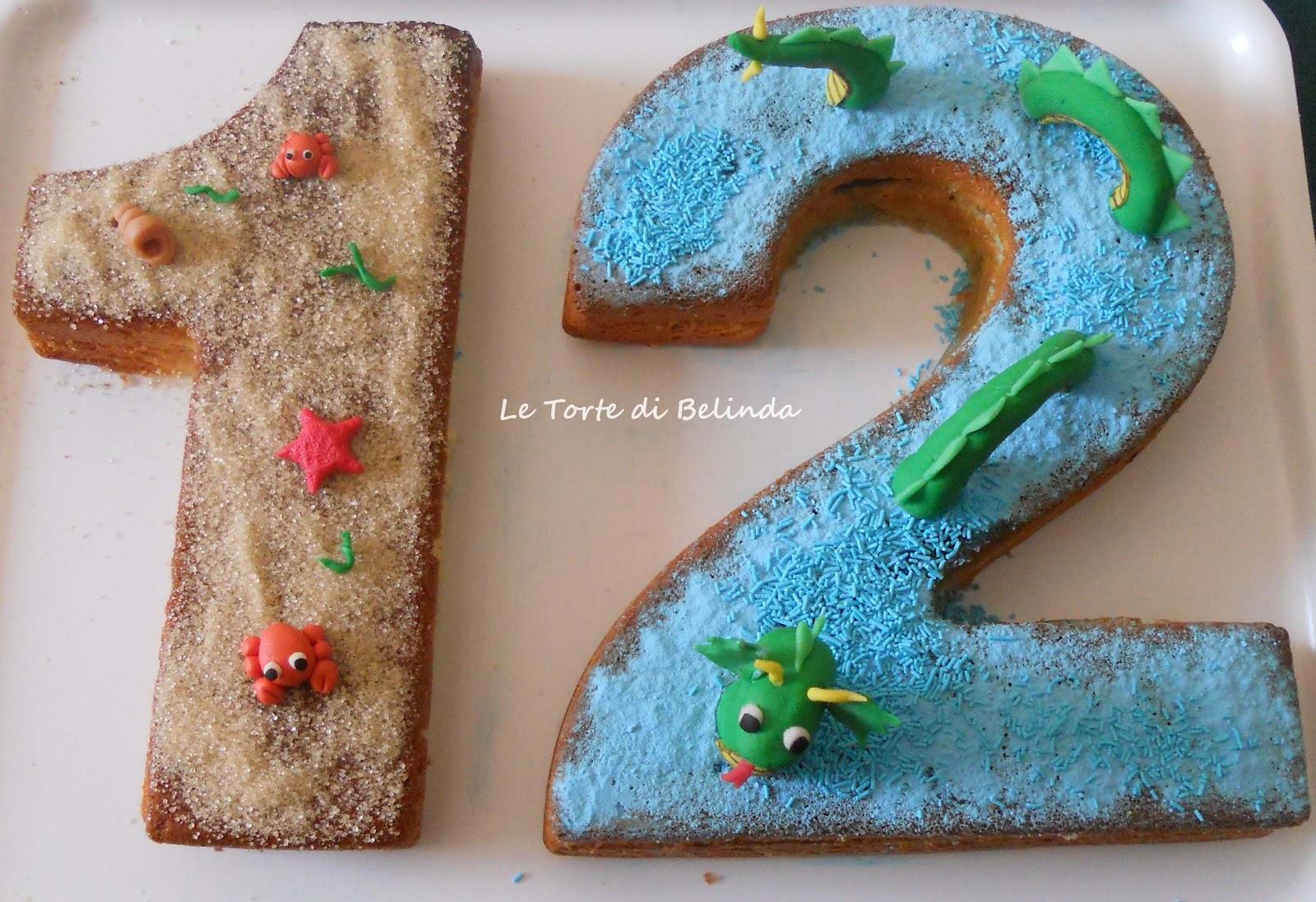 Le Torte Di Belinda Ma Non Solo Torta Serpente Marino