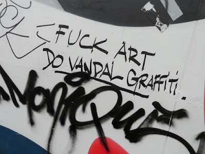 Fuck art - Do vandal graffiti