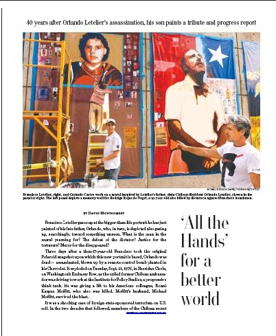 Todas Las Manos Mural- Washington Post