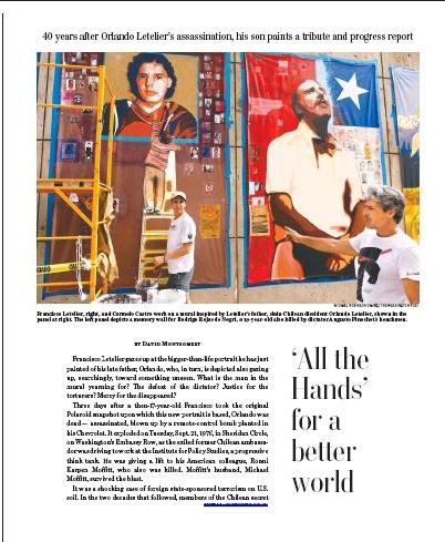 Todas Las Manos Mural- Washington Post