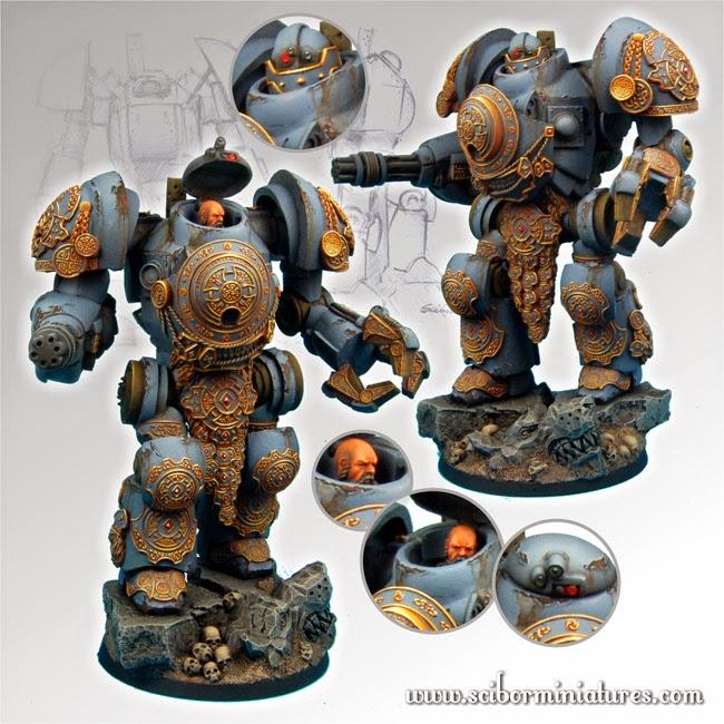 Torin Mech Suit de Scibor Miniatures