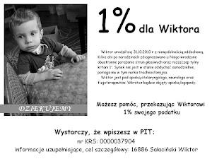 1% dla Wiktorka