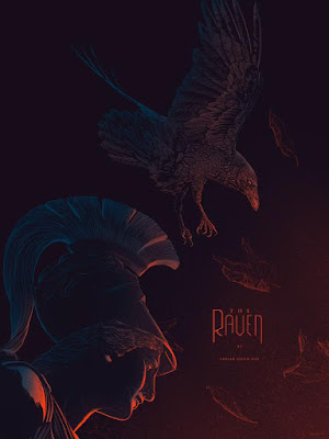 "MondoCon 2015 Exclusive ""The Raven"" Screen Print by Kevin Tong"