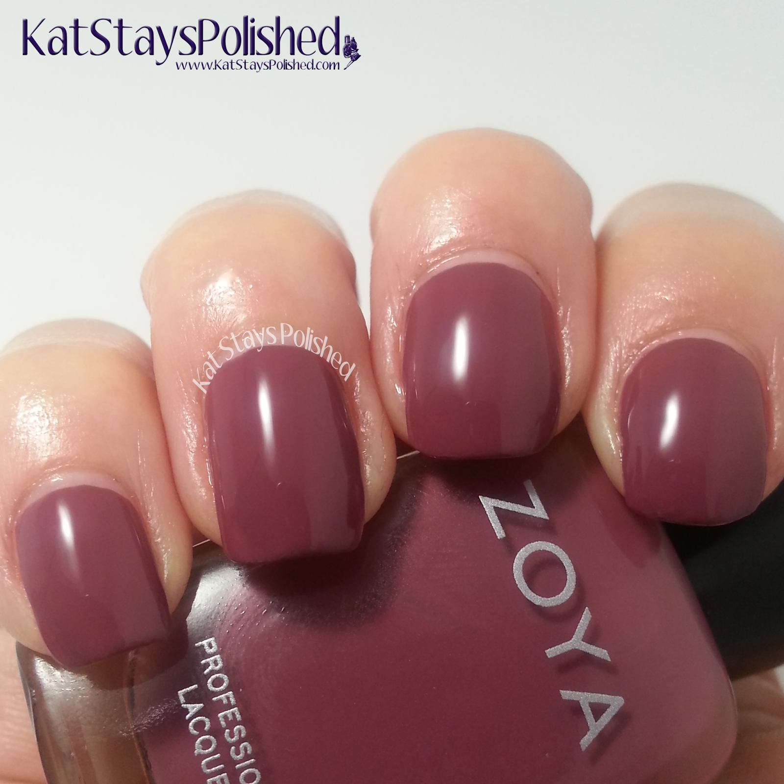 Zoya Naturel Deux - Aubrey | Kat Stays Polished