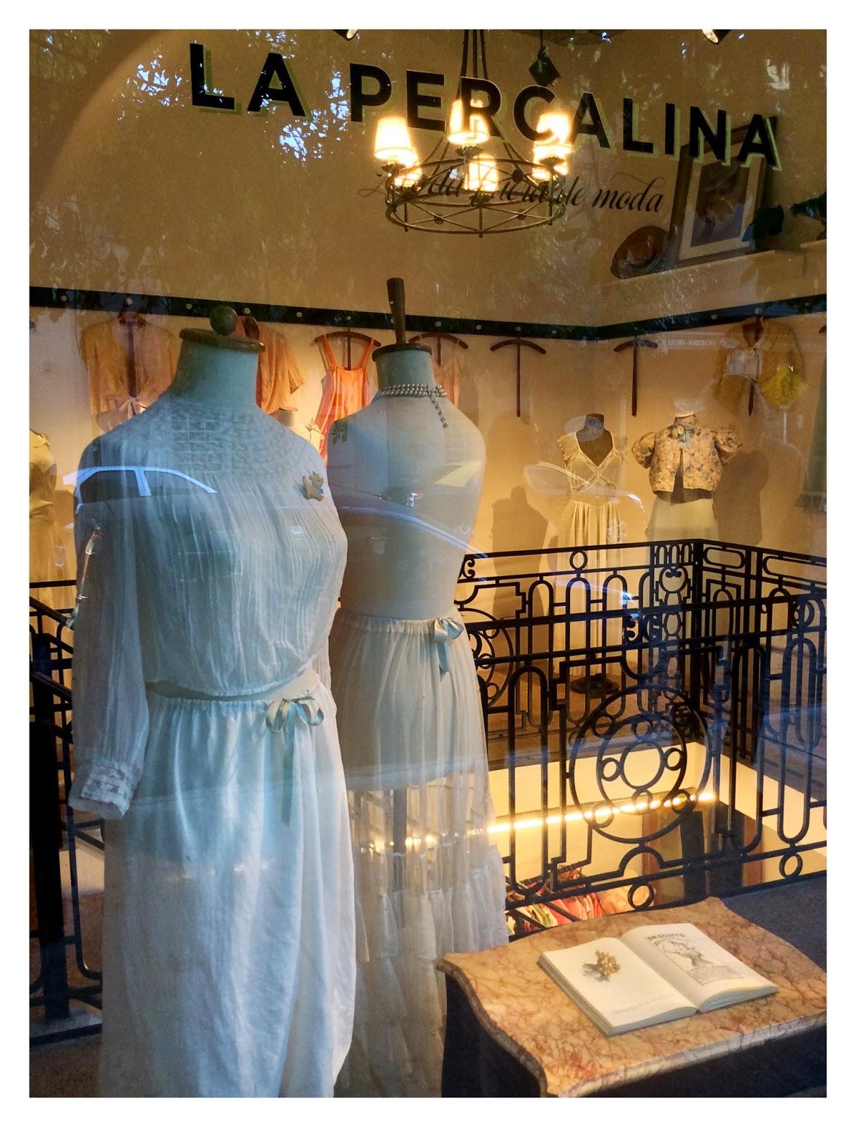 Moda en las vidrieras de europa donde los diseñadores