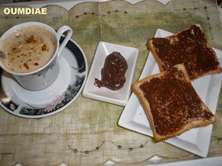 طريقة تحضير شكلاط لدهن الخبز بالصور التوضيحية