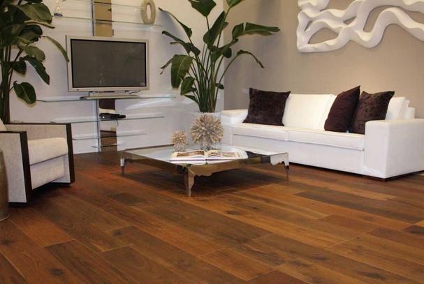 lantai kayu rumah minimalis modern elegan 2015, Lantai Kayu Ruang Tamu