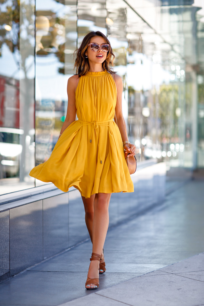 Vivaluxury Fashion Blog By Annabelle Fleur Mustard