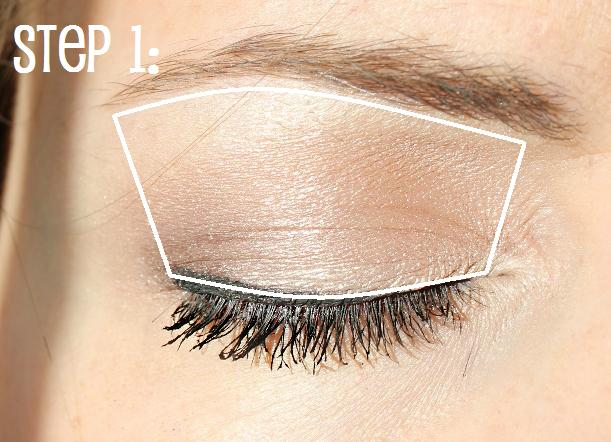 step 2: apply your dark shade ONLY to outside corner of eye. applying too much dark shadow can make eyes appear smaller. by applying a small amount, you ...