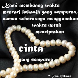 Mencintai Yang Tidak Sempurna,cinta yang sempurna