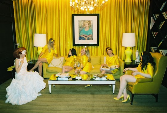 Hello Yellow Inspiracja Pomysł Koncepcja