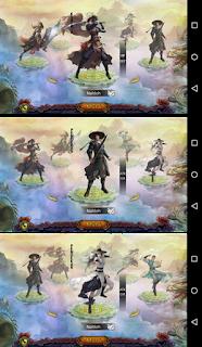 game to liong to 3 karakter