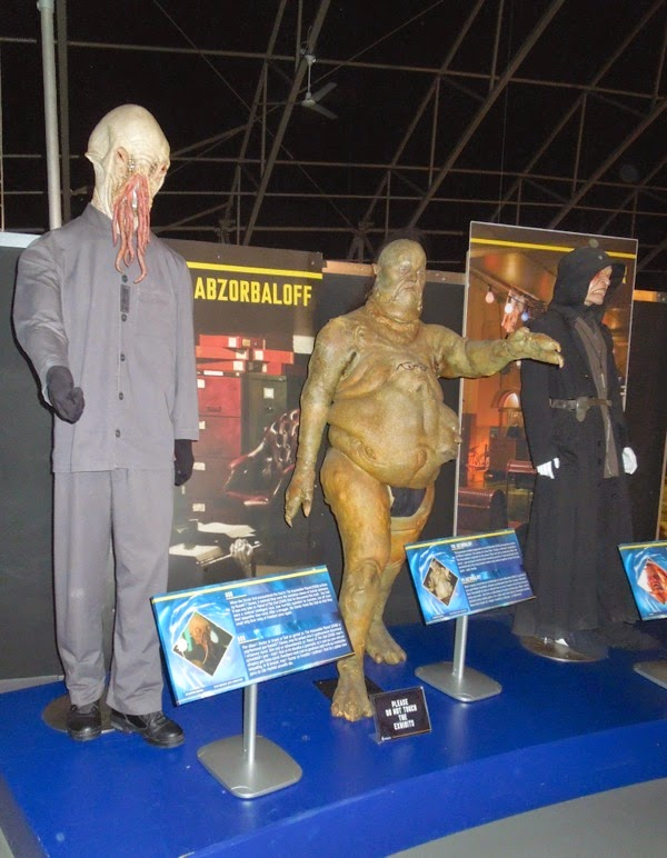 Ood Abzorbaloff Winder costumes Doctor Who