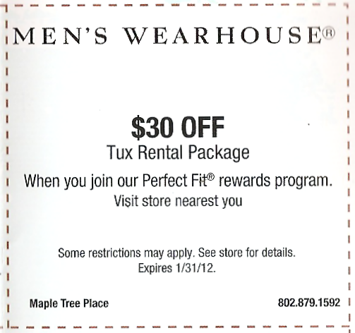 graphic relating to Mens Wearhouse Coupon Printable titled Menswarehouse promo code : Toys r us material glance