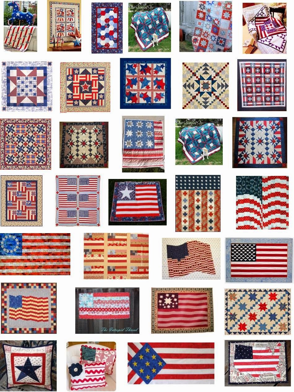 Patriotic Quilt Patterns For Free : Quilt Inspiration: FREE PATTERN Archive