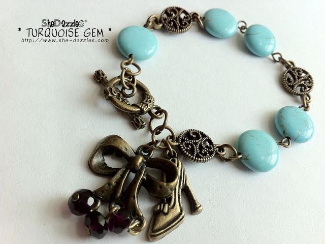 ar201-blue-turquoise-charm-bracelet-malaysia