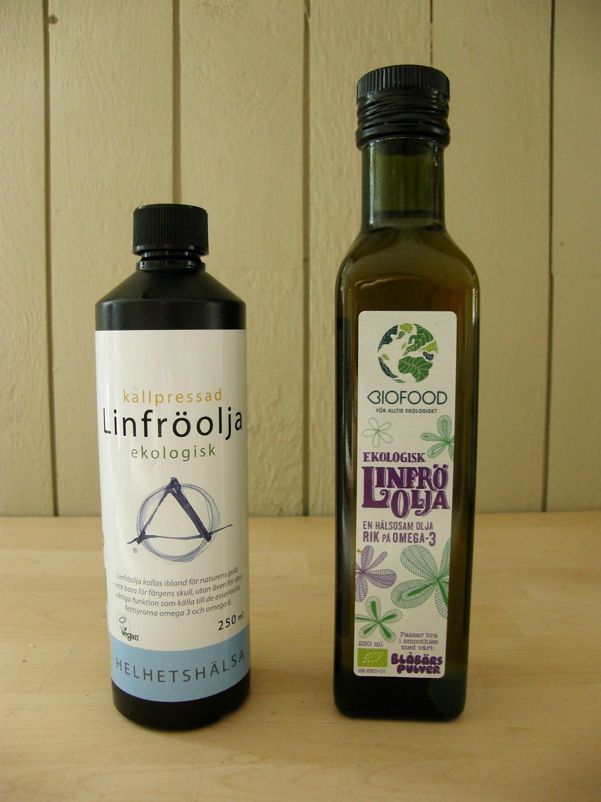 vad är linfröolja bra för