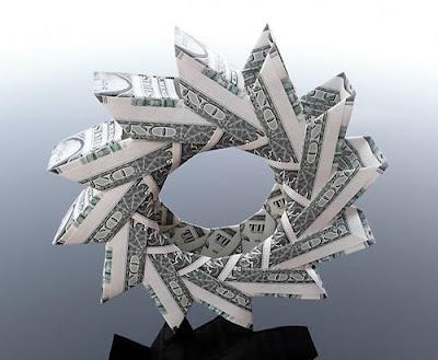 Beautiful Dollar Origami Art By Craig Sonnenfeld Seen On www.coolpicturegallery.us