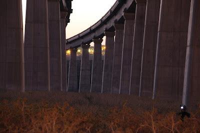 גשרי הרכבות ליד צומת לטרון