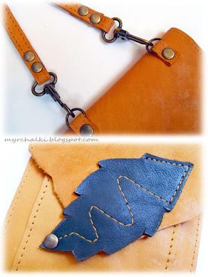 маленькая сумочка из кожи своими руками