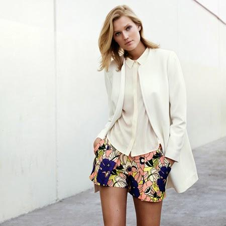 H&M primavera verano 2015 estampado floral