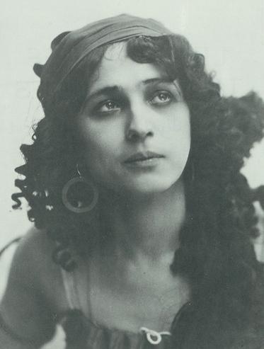 vintage portrait sofia fedorova