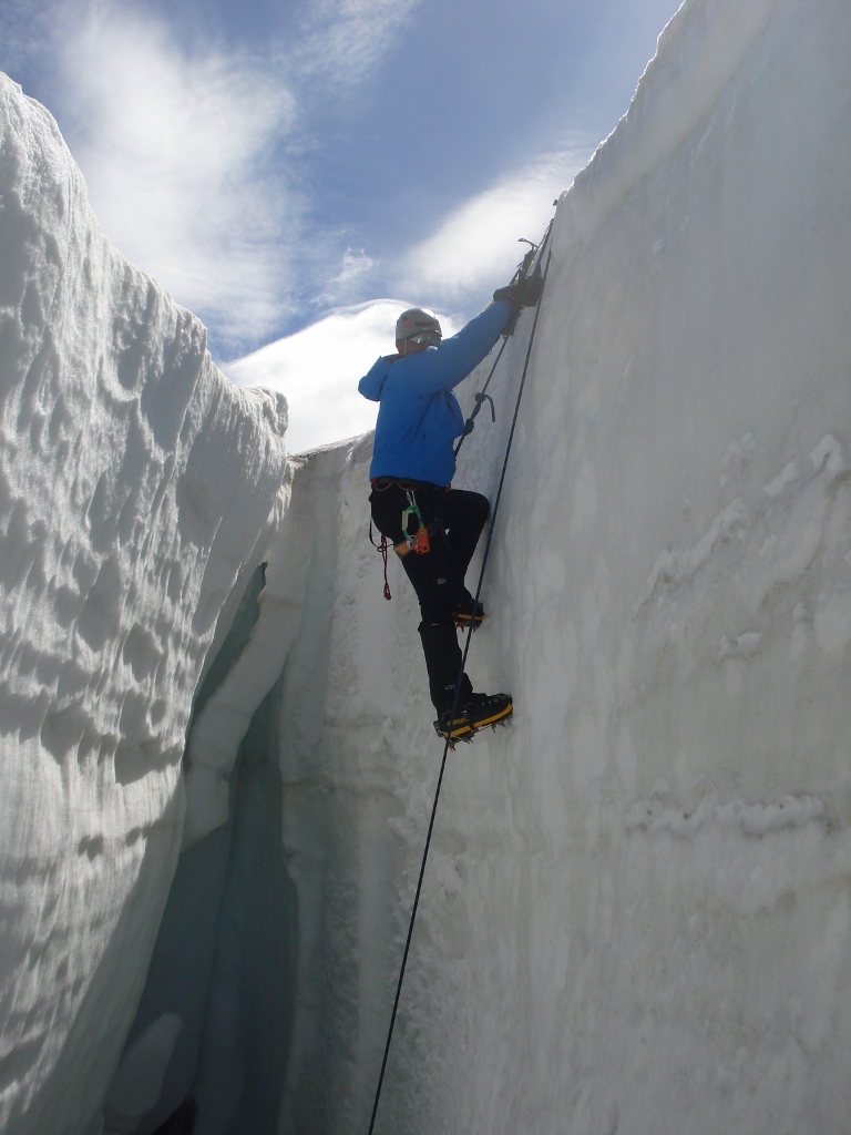 Curso de Técnicas en Hielo y Nieve