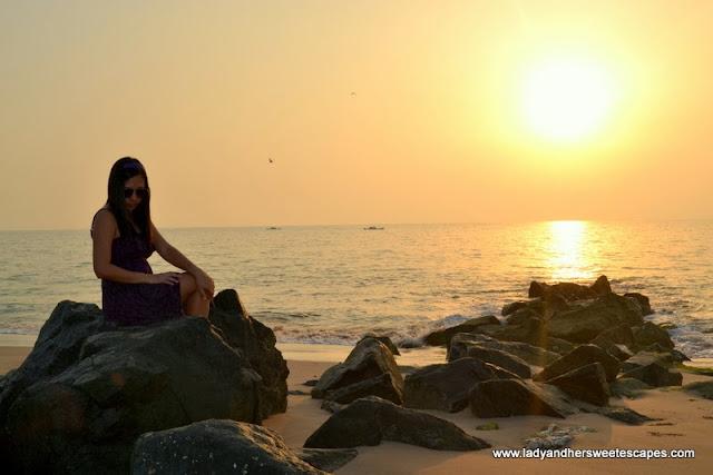 Fujairah Rotana Resort and Spa at sunrise