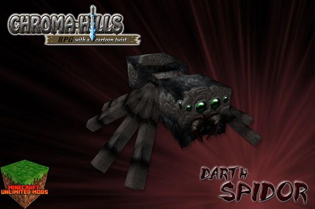 Chroma Hills RPG Texture Pack araña