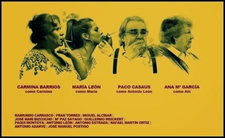 Póster de Carmina o revienta. (Paco León, 2012)