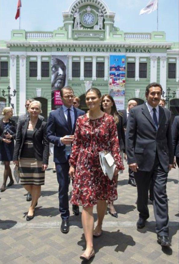 Princess Victoria And Prince Daniel's Visit To Peru, Day 2
