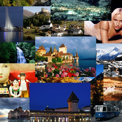 Switzerland important Tourist spots
