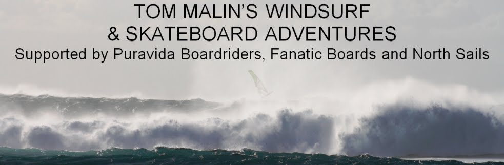 TOM MALIN'S WINDSURFING ADVENTURES