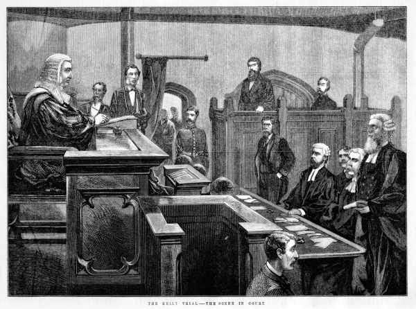 Ned Kelly trial