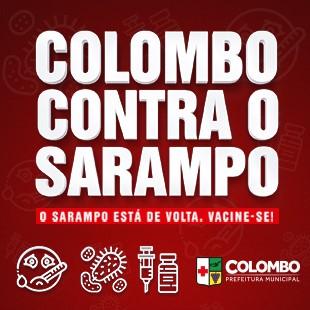 COLOMBO CONTRA O SARAMPO