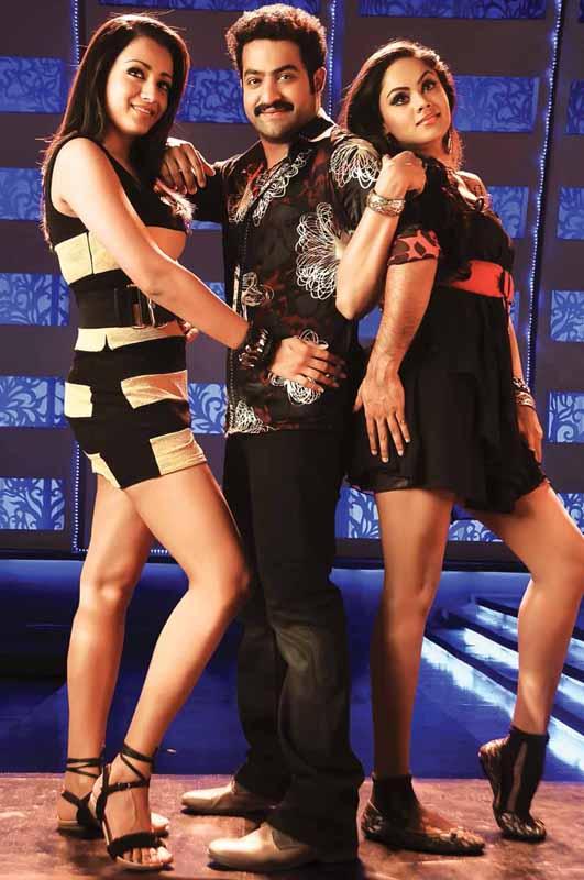Heroine trisha krishnan ntr Dammu telugu movie stills pics15