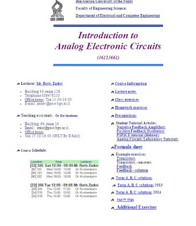 Introduction to Analog Electronic Circuits