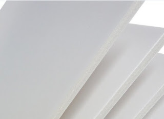 White foam core