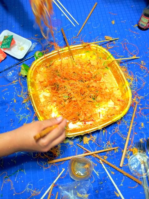 messy yu sheng