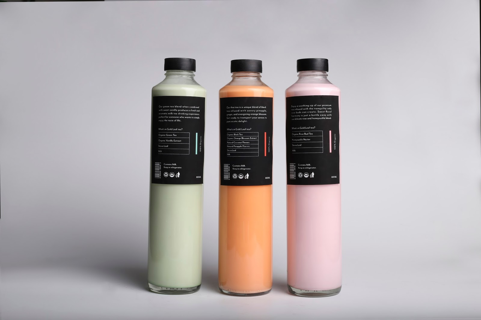 Goldleaf Milk Tea Co Student Project On Packaging Of