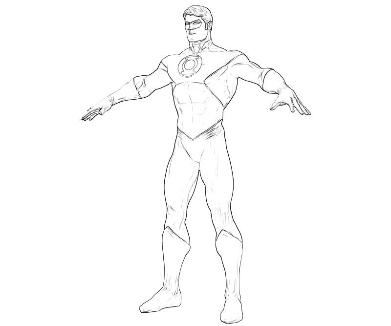 Green lantern green lantern character supertweet for Green lantern printable coloring pages
