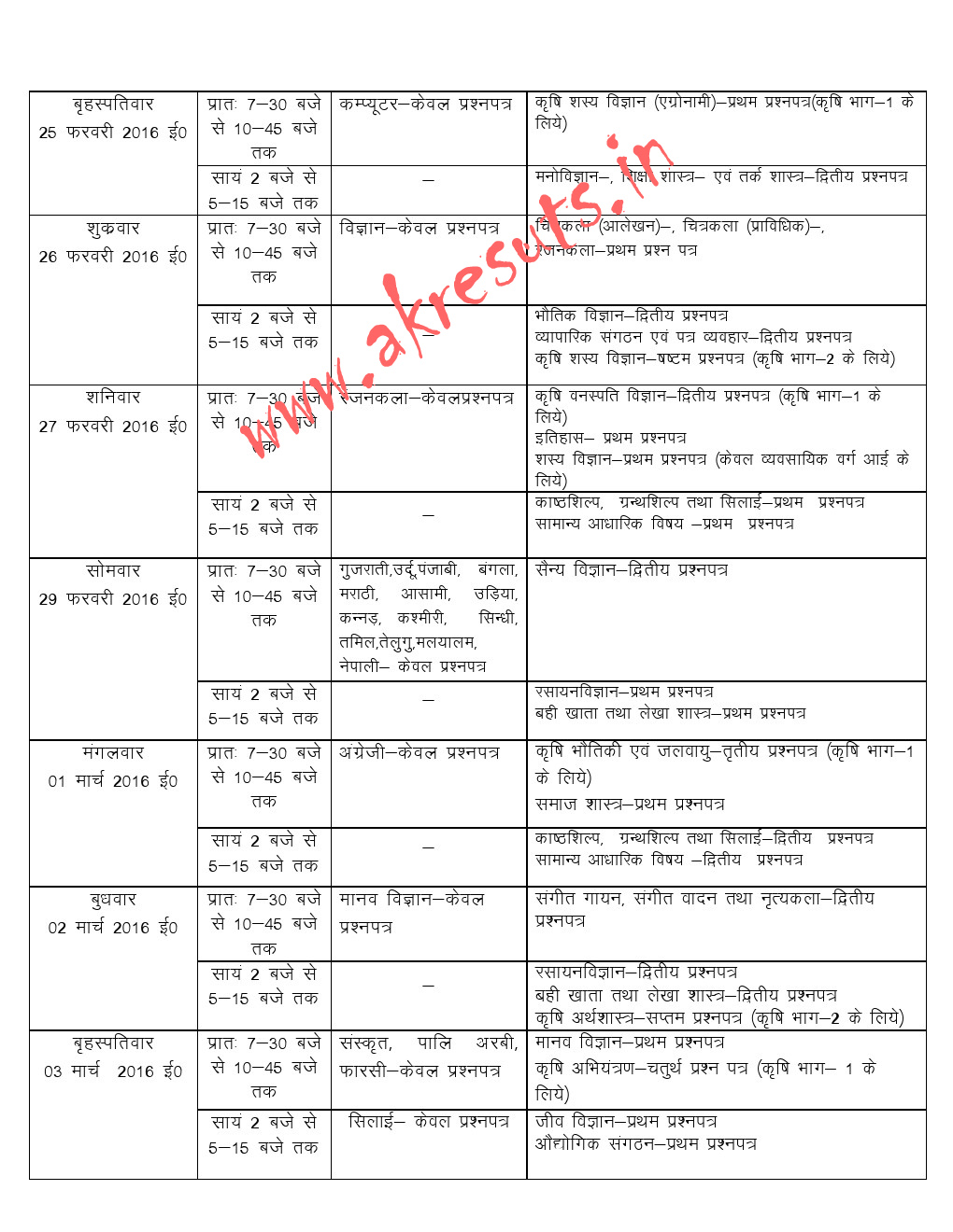 up board class 12th time table 2018 up board high school