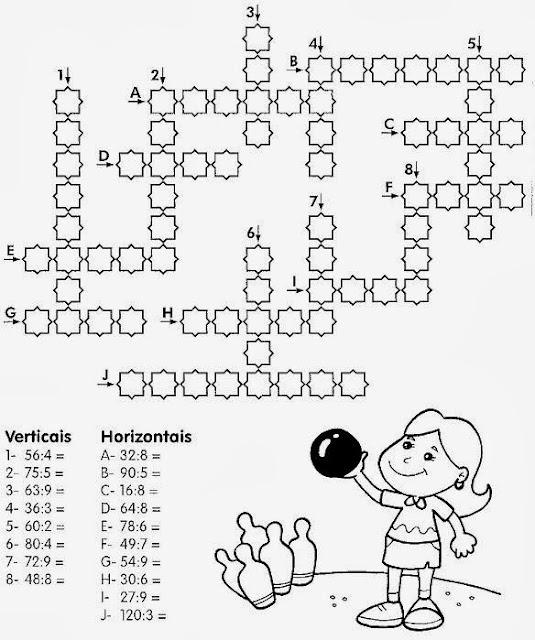 Atividades de matemática do 5° ano para imprimir