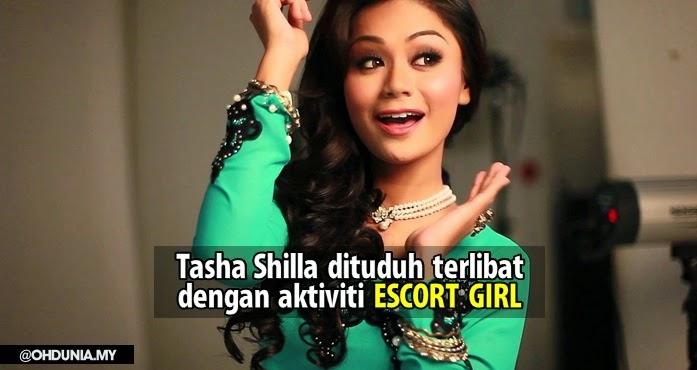 Benarkah Tasha Shilla Sedang Disiasat Kerana Aktiviti 'Escort Girl'?