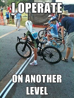 i operate on another level, funny kid on bike