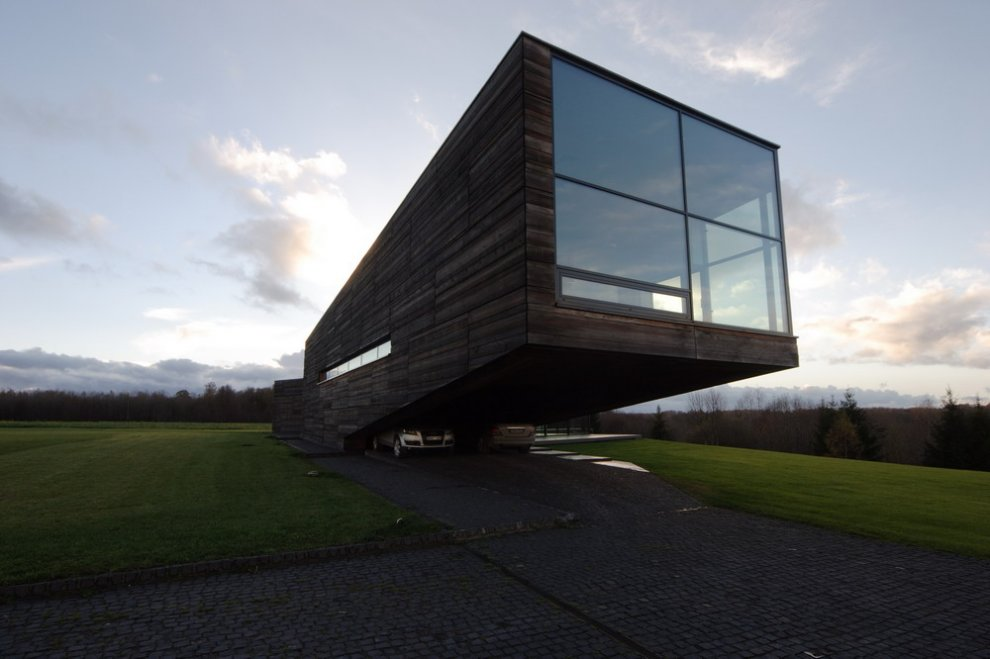 Contemporary Cantilever House In Lithuania Most Beautiful